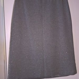 Wooi (lined) Skirt W/ Crystal Details SZ10